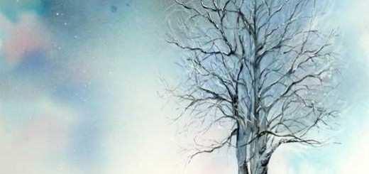 Ambiance vive dans un paysage d'hiver